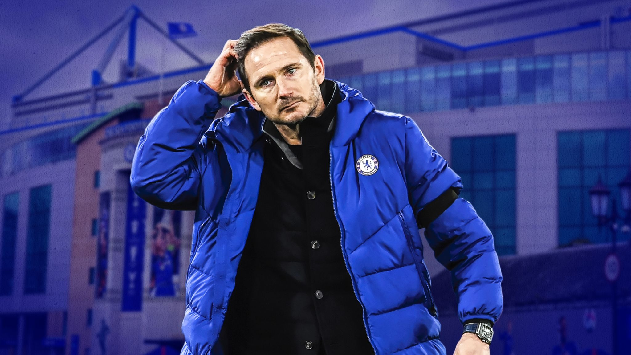 Frank Lampard, Candid After Chelsea Departure